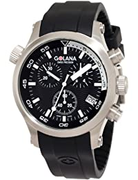 Golana Swiss Men's AQ300-1 Aqua Pro 300 Stainless Steel Watch