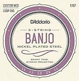 D\'Addario EJ57 Cordes pour Banjo