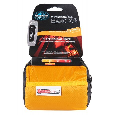 Sea to Summit Thermolite Reactor Mummy Liner - Thermo Innenschlafsack -