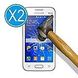 WoowCase 9H Tempered Glass [2 Unidades] Protector de Pantalla para [ Samsung Galaxy Ace NXT ] Cristal Vidrio Templado Premium, Ultra Resistente a Arañazos, Dureza 9H