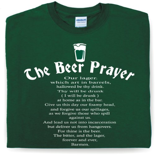 THE-BEER-PRAYER-Drinking-t-shirt-pub-tee-alcohol-joke-slogan-booze-teeshirt