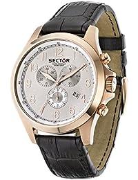 Sector Herren-Armbanduhr 290 Chronograph Quarz Leder R3271690001