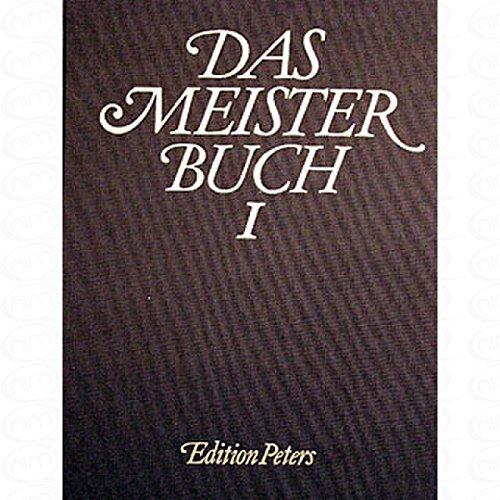 Le Meisterbook 1-composés pour piano [partitions de musique]
