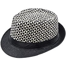 d9444d526408d Amazon.es  sombrero paja - Negro