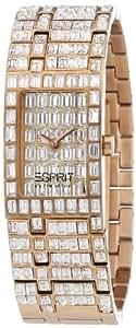 Esprit Collection Damen-Armbanduhr h-helena rosegold Analog Quarz Edelstahl EL101232F07