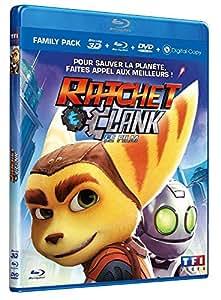 Ratchet & Clank : le film [Blu-ray 3D & 2D + DVD + Copie digitale]