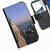 Hairyworm- Landschaft Seiten Leder-Schützhülle für das Handy Sony Xperia M