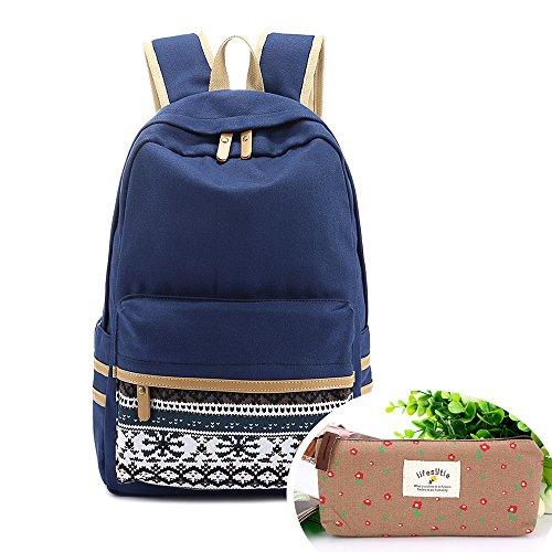 symbollife-casual-lightweight-laptop-bag-shoulder-bag-school-backpack-travel-bag-with-embroidery-des