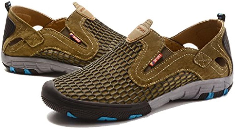 GAOLIXIA Hombre Deportes Zapatos casuales Running Zapatillas Athletic Walking Zapatillas de gimnasia Slip-On Athletic...