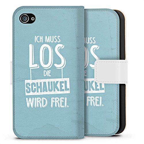 Apple iPhone X Silikon Hülle Case Schutzhülle Spruch Humor Visual Statements Sideflip Tasche weiß