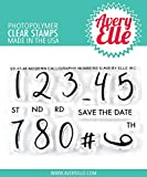 Avery Elle Clear Stamp Set 5,1 x 7,6 cm