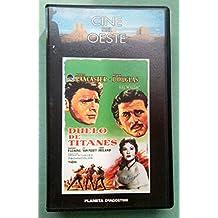 Duelo de titanes - Cinta VHS