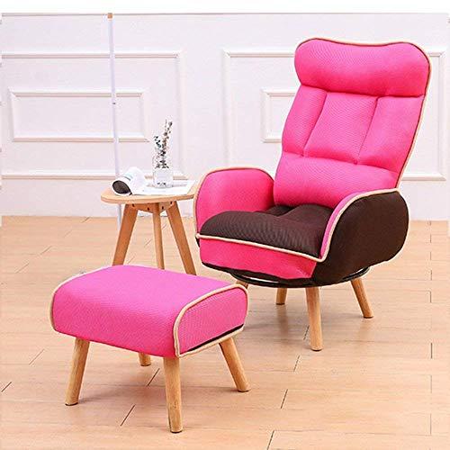 Sofa Paresseux Stillstuhl, Bruststuhl, Schwangerschaftsstuhl, Klappstuhl, Sonnenliege (Farbe: Rosa, Rot, Sofa + Pedal) - - -