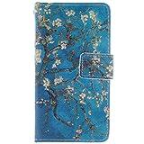 KATUMO®PU Protafoglio Cuoio Compatibile con Nokia Lumia 630/635 Flip Cover Custodia Protettiva Caso Casi Carta di Creditoi Slots Elegante Case