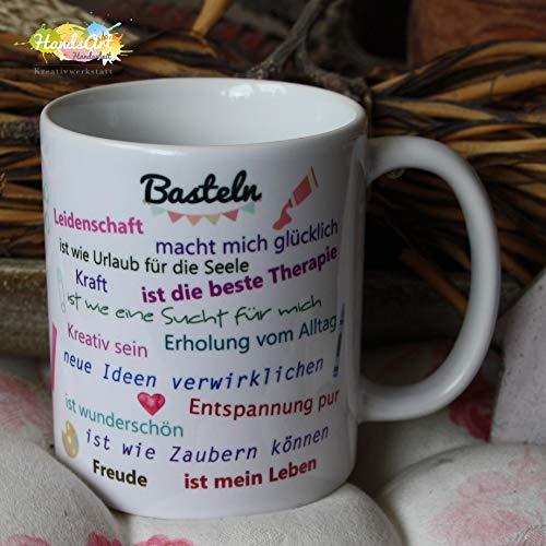 Kaffeebecher ~ Tasse - Basteln ~ Weihnachten Geschenk (Kunsthandwerk Kunst Und Weihnachten Für)