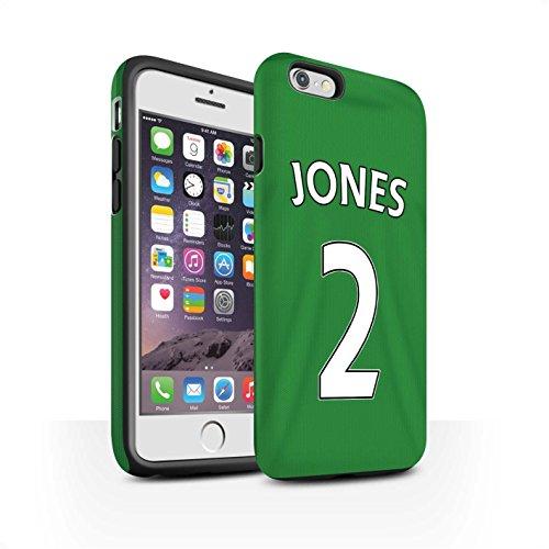 Offiziell Sunderland AFC Hülle / Matte Harten Stoßfest Case für Apple iPhone 6 / Jones Muster / SAFC Trikot Away 15/16 Kollektion Jones