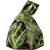 Totes della borsa dell'annata del sacchetto di polso delle donne del sacchetto del nodo di stile giapponese #02