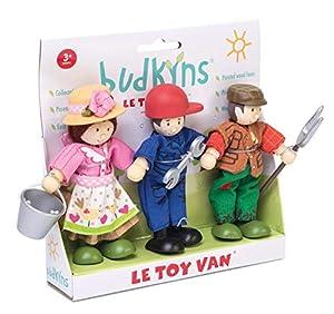Le Toy Van - Caja de Regalo de Figuras de Madera, diseño de granjeros