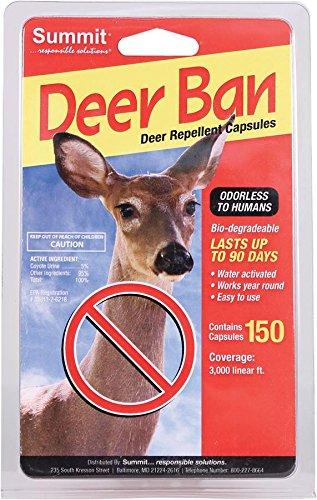 Summit verantwortlich solutn 2002150Zählen Deer Ban Deer Repellent Kapseln