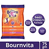Cadbury Bournvita Chocolate Health Drink, 75 gm Pouch