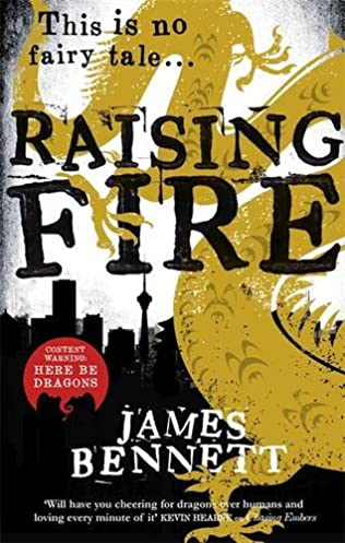 book cover of Raising Fire