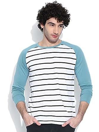 Cult Fiction White marl color Tshirt for Men