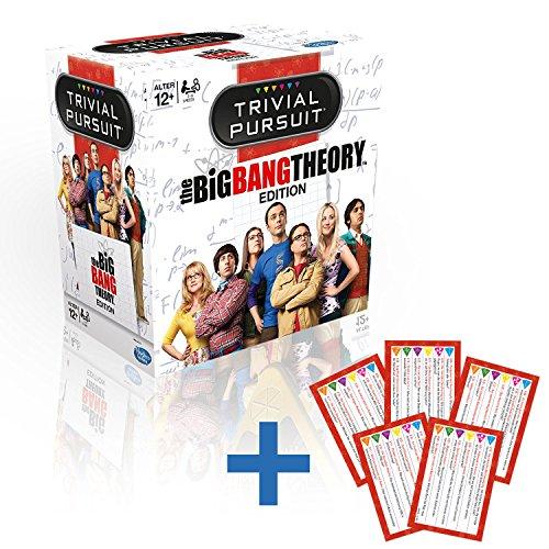 Trivial Pursuit - The Big Bang Theory Gesellschaftsspiel Quiz Deutsch mit 30 extra Fragen