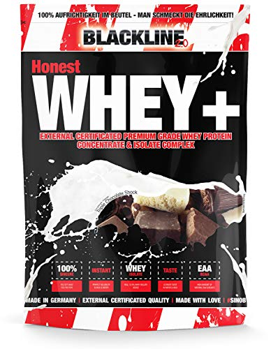 #sinob Honest Whey+ Protein. Eiweißpulver Mit EAA. 1 x 1000 g (Triple Chocolate Shock)