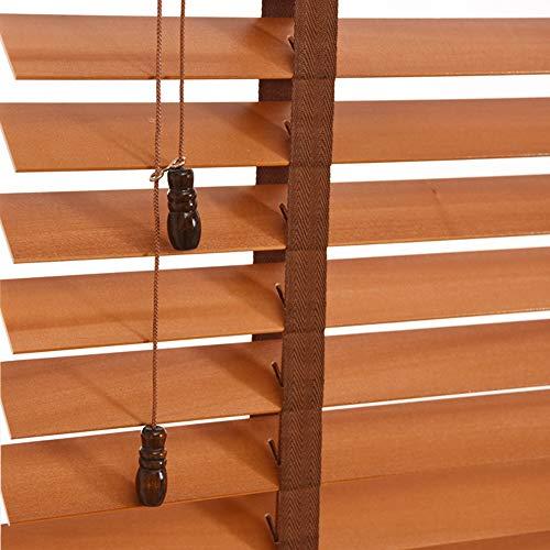 WENZHE Estores De Bambú Venecianas Persianas Estor Enrollable Madera Maciza Regulable Elevable Quitasol Adecuado para Casa Oficina, Tamaño Personalizable (Color : 50mm, Tamaño : 60x160cm)