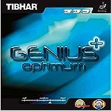 Tibhar Genius + Optimum Max Table Tennis Rubber (Red)