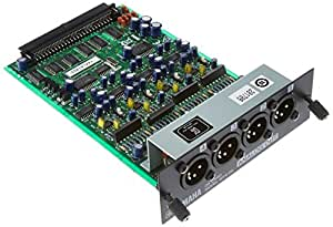 YAMAHA 4-Channel Line-level Analog Output Card; 4 XLR Connectors, MY4DA
