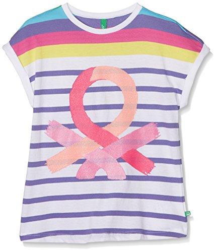 united-colors-of-benetton-t-shirt-camiseta-para-ninos-multicolor-multi-colour-7-8-anos-talla-del-fab
