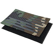 TMC Airsoft Patch Grande Bandera de Estados Unidos Parche infrarrojo con Gancho y Cierre de Velcro