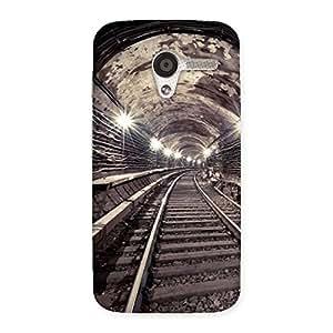 Impressive Track in Tunnel Back Case Cover for Moto X