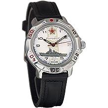 Vostok KOMANDIRSKIE 2414811428azul marino militar ruso reloj mecánico