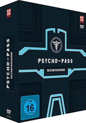 Psycho Pass - 1. Staffel - Gesamtausgabe [4 DVDs]