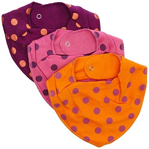 Pippi Baby Mädchen (0-24 Monate) Schal Gr. One Size, Violett - Purple (Cherry)