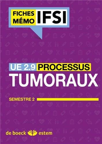 UE 2.9 - Processus tumoraux - Semestre 5