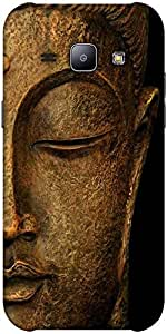 Snoogg Buddha actual Hard Back Case Cover Shield ForSamsung Galaxy J1