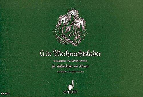 Alte Weihnachtslieder: Alt-Blockflöte und Klavier.