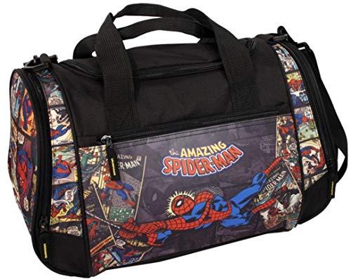 Sporttasche Reisetasche Kinder Jungen Tasche Sport Schul Weekender (Spiderman)