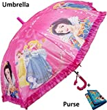 #9: DHINCHAK STORES special one Different of all Material Beautiful Girlish print UMBRELLA for kids and all