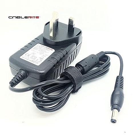 12v cablerite TM netgear Arlo Pro Base Station 120-240v power supply charger lead