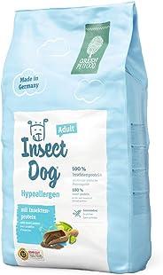 Green Petfood Insectdog Hypoallergen Adult - Getreidefrei/mit Insekten als Proteinquelle - Hundefutter Trocken