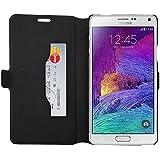 Mocca Design ERSA63 Etui pour Samsung Galaxy Note 4 Noir