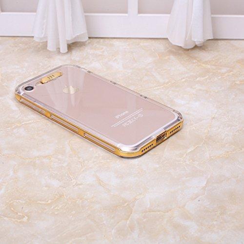 iPhone Case Cover Étui pour iPhone 7, TPU Transparent Couverture souple Étui de protection souple et flexible pour iPhone 7 4,7 pouces ( Color : Rose , Size : IPhone 7 ) Yellow