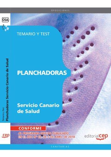 Planchadoras del Servicio Canario de Salud. Temario y Test (Colección 1508) por Sin datos