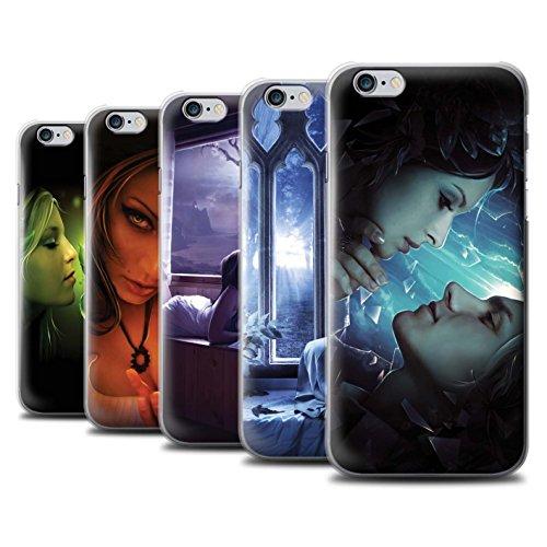 Officiel Elena Dudina Coque / Etui pour Apple iPhone 6S / Pack 7pcs Design / Art Amour Collection Pack 7pcs