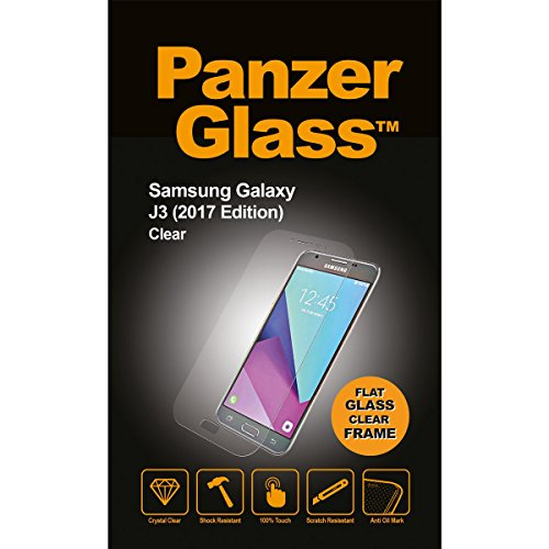 Image of PanzerGlass Samsung Galaxy J3 2017, Clear Displayschutz