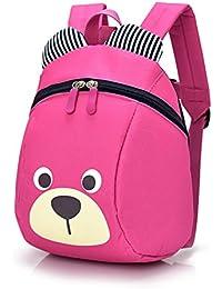 Preisvergleich für Kinderrucksack Anti Verloren Kinder Rucksack Mini Bär Schule Tasche für Baby Jungen Mädchen Kleinkinder 1-3 Jahre